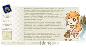 Idaho Template by NikkoTakishima