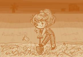 Busy Chucking Potatoes... by NikkoTakishima