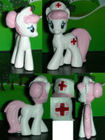 Nurse Red Heart Blind Bag My Little Pony by TianaTinuviel