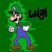 Luigi by superzachbros123