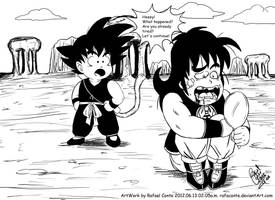 Come on Yamcha by RafaConte