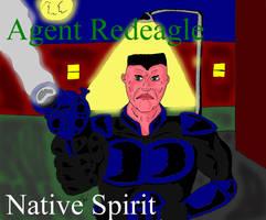 Agent Redeagle, Native Spirit by GalaxyZento