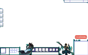 Twisted Fate and Wukong Overlay by m3ndi3