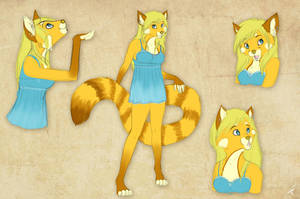 Arcais sketchpage commission 1 by DRGNFL