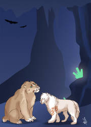 Crystal cave 1 - Tokotas by DRGNFL