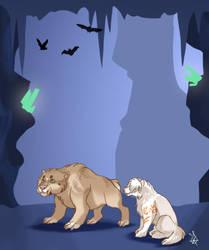 Crystal cave 2 - Tokotas by DRGNFL