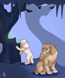 Crystal cave 3 - Tokotas by DRGNFL