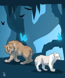 Crystal cave 7 - Tokotas by DRGNFL