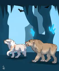 Crystal cave 8 - Tokotas by DRGNFL