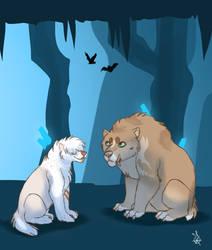 Crystal cave 9 - Tokotas by DRGNFL
