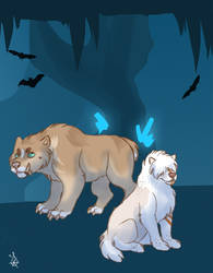Crystal cave 10 - Tokotas by DRGNFL