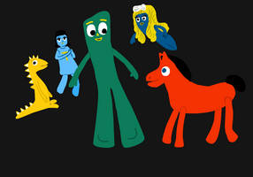 Oh gumby by leggylarue