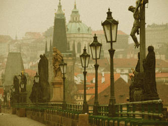 Foggy morning in Prague by penguin91