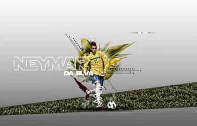 Neymar by AmrYasserDesigner