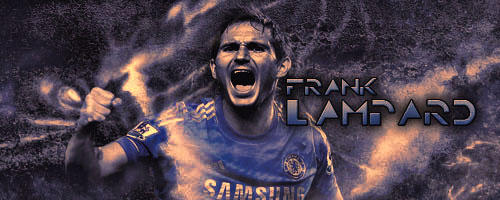 Frank Lampard by AmrYasserDesigner