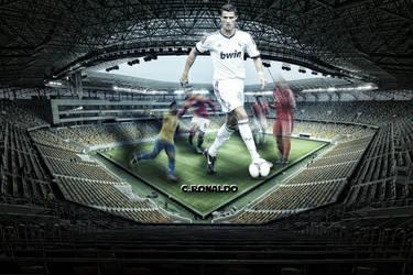 Cristiano Ronaldo by AmrYasserDesigner