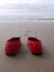 Shoe Beach by Sammy-Amy
