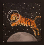 Stanley the Space Tiger by EmmaHindall