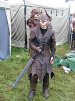 Saty's armor by Sebbal