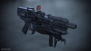 Yana B3E Compact rifle by gavriilklimov