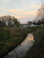 River Sunset by spongebat15