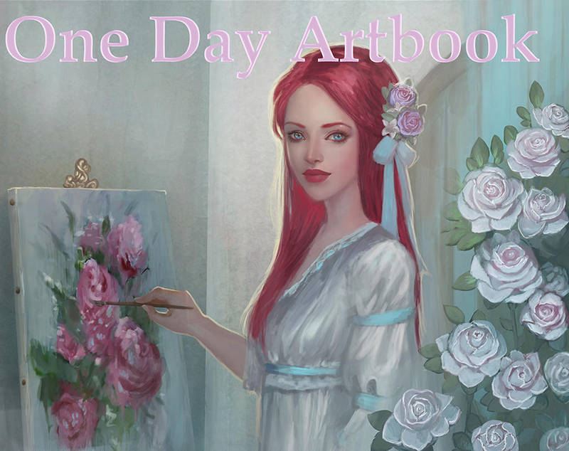 One Day Artbook by atroposdios