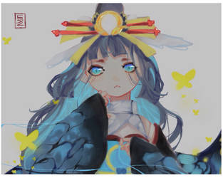 [Onmyoji] [Fanart] Kairaishi - The 3rd skin by sylllll