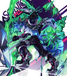 Sonicfox by DanSyron