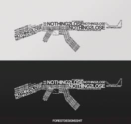 Nothing2Lose Random Logotype by anthonydawson