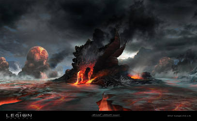 Ice and Lava by qci