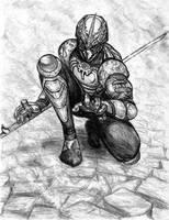 ninja knight by leftee007