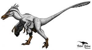 Velociraptor by Vitor-Silva