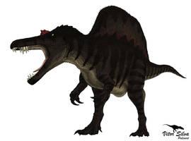 All Yesterdays: Spinosaurus by Vitor-Silva