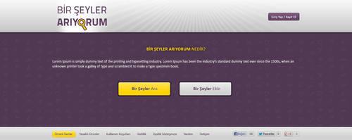 Bir Seyler Ariyorum : Main Page by MertNerukuc