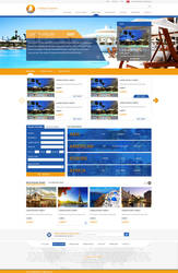Travel Agency Web Design by MertNerukuc