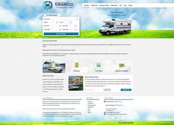 Karavanci Website Template by MertNerukuc