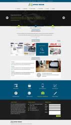 Inteso Web Re-Design by MertNerukuc