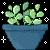 f2u jade plant pixel by chausii