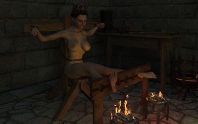 feet roasting by Pandrel