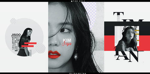 gfx.kim jisoo x red by nyannyan95