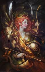 Diana by apterus