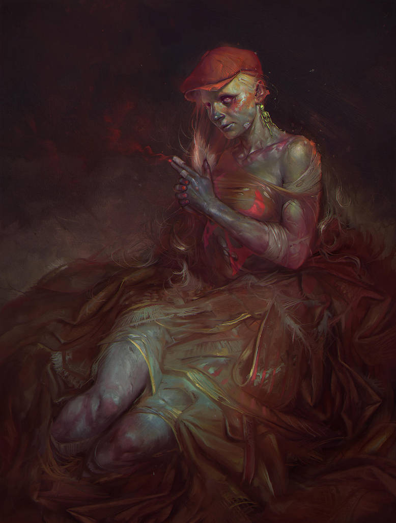 Red cap by apterus