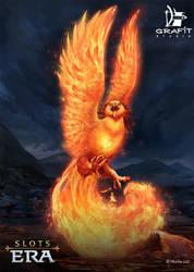 Fire Phoenix by Cornis