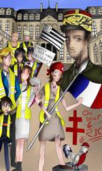 Les Gilets Jaunes by Gingine
