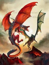 Dragon Flight by engelszorn