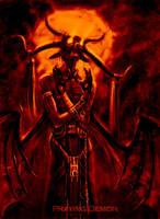 Praying Demon by engelszorn