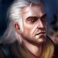 Geralt by engelszorn