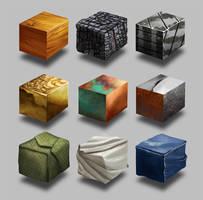Texture studies by engelszorn