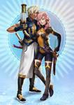 Commission Friends by engelszorn