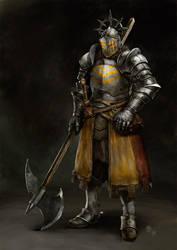 Knight Concept Art by engelszorn